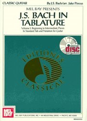 BACH IN TABLATURE + CD                 kytara + tabulatura