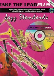 TAKE THE LEAD PLUS JAZZ + CD Bb woodwind quartet