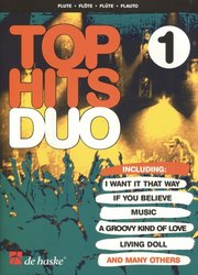 Top Hits Duo 1 / příčná flétna - duet