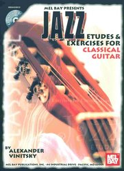 Jazz Etudes & Exercises for Classical Guitar + CD