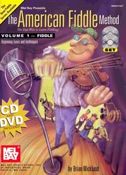The American Fiddle Method 1 (Book+CD+DVD)