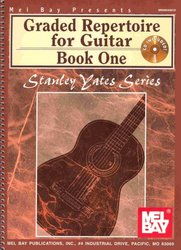 MEL BAY PUBLICATIONS GRADED REPERTOIRE FOR GUITAR 1 + Audio Online