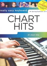 Really Easy Keyboard - CHART HITS (jaro-léto 2017)