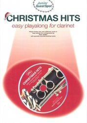 WISE PUBLICATIONS CHRISTMAS HITS easy arrangements + CD / klarinet