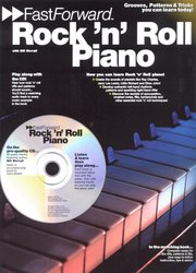 WISE PUBLICATIONS FAST FORWARD - ROCK' N' ROLL PIANO + CD