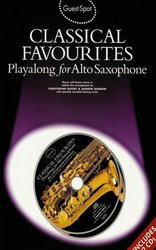 WISE PUBLICATIONS Guest Spot: CLASSICAL FAVORITES + 2x CD /  altový saxofon