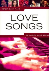 WISE PUBLICATIONS Really Easy Piano - LOVE SONGS (22 classic love songs)