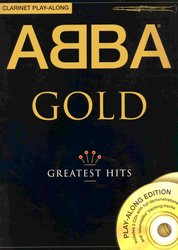 WISE PUBLICATIONS ABBA GOLD - GREATEST HITS + 2x CD / klarinet