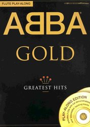 WISE PUBLICATIONS ABBA GOLD - GREATEST HITS + 2x CD / příčná flétna
