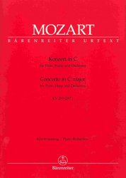 Mozart - Concerto in C major, KV 299 for flute, harp and orchestra (piano reduction)