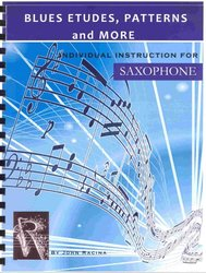 BLUES ETUDES, PATTERNS AND MORE for saxophone / saxofon
