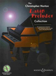LATIN PRELUDES COLLECTION + CD / sólo klavír