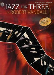 Warner Bros. Publications JAZZ FOR THREE (1P6)  by R.VANDALL