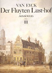 DER FLUYTEN LUSTHOF 3 by Jacob van Eyck - first complete edition with full commentary