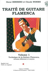 Editions COMBRE TRAITE DE GUITARE FLAMENCA 1 + CD / kytara + tabulatura