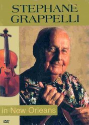 Stephane Grappelli - Live in New Orleans     DVD