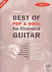 Best of Pop & Rock for Classical Guitar 12 / kytara + tabulatura