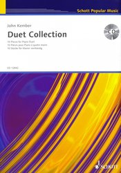 DUET COLLECTION in Latin,Spiritual & Jazz styles + CD 1 piano 4 hands