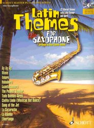 SCHOTT&Co. LTD LATIN THEMES + CD  alt saxofon a klavír