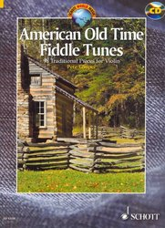 AMERICAN OLD TIME FIDDLE TUNES + CD / housle