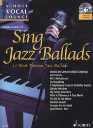 Sing Jazz Ballads (12 Most Beautiful Jazz Ballads) + CD / zpěv + klavír