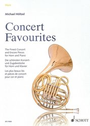 CONCERT FAVOURITES - The Finest Concert and Encore Pieces / lesní roh (f horn) + klavír