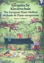 SCHOTT&Co. LTD The European Piano Method v.2  +  CD / Evropská klavírní škola 2. díl + CD