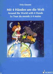 Around the World with 4 Hands by Fritz Emonts - 1 klavír 4 ruce