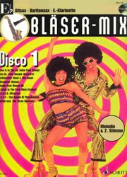 BLASER-MIX: DISCO 1 + CD - Eb instruments (solos or duets)