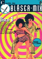 BLASER-MIX: DISCO 1 + CD - C instruments (solos or duets)