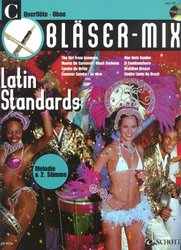 BLASER-MIX: LATIN STANDARDS + CD / C instruments solos (duets)