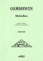 GERSHWIN - Melodies - melodie akordy - příčná flétna (housle)   kytara ( 891a0b22047