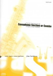 ADVANCE MUSIC Easy Jazz Conception for the Saxophone Section or Combo + CD