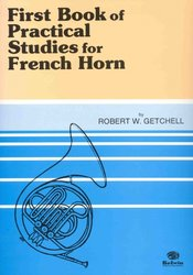 Practical Studies for French Horn 1 by Robert W. Getchell / lesní roh