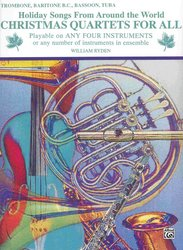 Christmas Quartets for All - trombon (pozoun)