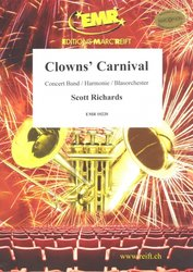 Clowns' Carnival - Concert Band / partitura + party