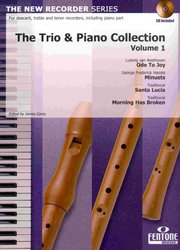 THE TRIO & PIANO COLLECTION 1 + CD / trio zobcových fléten + klavír