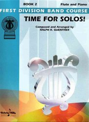 Belwin-Mills Publishing Corp. TIME FOR SOLOS BOOK 2  FLUTE + piano doprovod