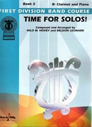 Belwin-Mills Publishing Corp. TIME FOR SOLOS BOOK 2  CLARINET + piano doprovod