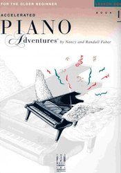 Piano Adventures - Lesson Book 1 - Older Beginners