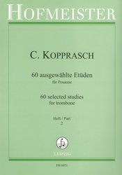 Kopprasch: 60 Selected Studies 2 (35-60) / trombon (pozoun)