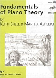 Neil A.Kjos Music Company Fundamentals of Piano Theory 3