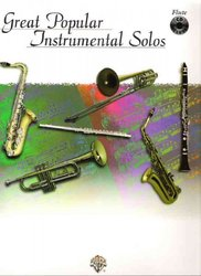 GREAT POPULAR INSTRUMENTAL SOLOS + CD / příčná flétna