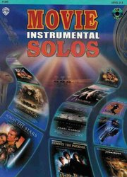 Warner Bros. Publications MOVIE INSTRUMENTAL SOLOS + CD / PŘÍČNÁ FLÉTNA