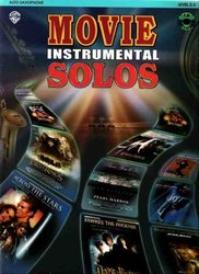 Warner Bros. Publications MOVIE INSTRUMENTAL SOLOS + CD / ALTOVÝ SAXOFON