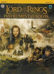Warner Bros. Publications LORD OF THE RINGS - INSTRUMENTAL SOLOS + CD trumpeta