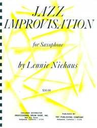 Jazz Improvisation for Saxophone by Lennie Niehaus