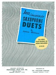 TRY PUBLISHING COMPANY JAZZ CONCEPTION FOR SAX DUETS by Lennie NIEHAUS + CD for 2 alto or