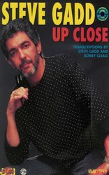 STEVE GADD - UP CLOSE + CD    drums