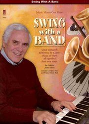 SWING WITH A BAND + CD / piano
